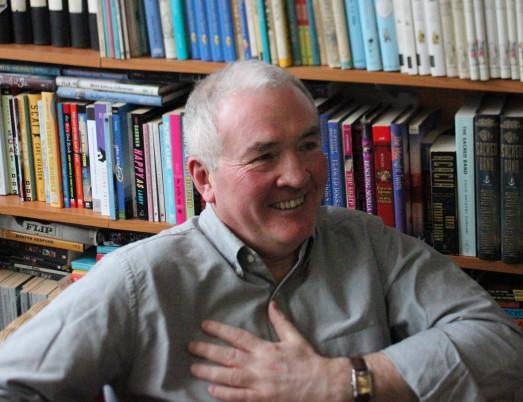 Children's author Tony Bradman